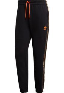 Calça Adidas Originals Camo Sweat Preto