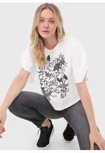 Camiseta Forum Estampada Branca - Kanui