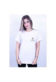 Camiseta Corte A Fio Bilhan Surf E Liberdade 1 Pqn Branca