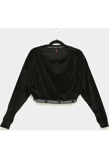 Camiseta Cropped Ecko Especial Manga Longa Feminina - Feminino