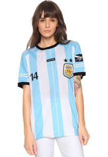 Camiseta My Favorite Thing(S) Argentina Azul/Branca