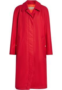 Burberry Trench Coat - Vermelho