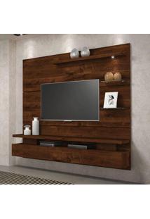 Painel Suspenso Greco Para Tv Até 42 Polegadas 1 Porta Basculante Com Luminária Led - Dj Móveis