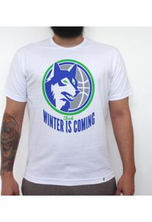 Winter Is Coming - Camiseta Clássica Masculina