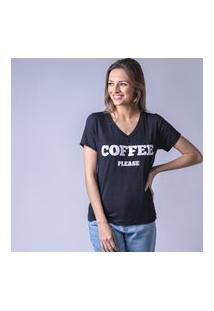 T-Shirt Starbox Visco Coffe Preta