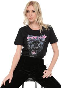 Camiseta Carmim Wild Shine Preta