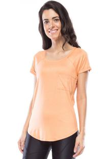 Camiseta New Pocket Vis Up - Laranja