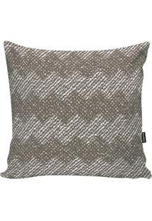 Capa Para Almofada Geometric- Bege Escuro & Branca- Stm Home