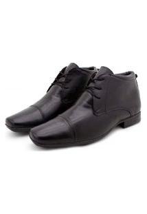 Sapato Masculino Social Fortaleza Laroche Preto