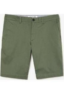 Bermuda Lacoste Slim Fit Masculina - Masculino