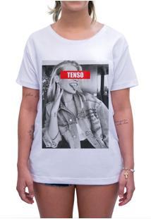 Camiseta Estampada Impermanence Urso Branca
