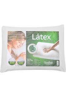 Travesseiro Duoflex Látex 62X42X14Cm Branco