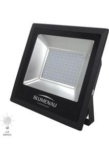 Refletor Led Slim 100W Bivolt Branco Frio 6000K - 74100600 - Blumenau - Blumenau