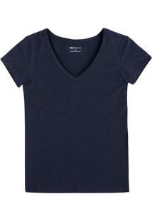 Camiseta Hering 02Tq Ax7-Marinho