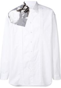 Raf Simons Camiseta Com Estampa Runway - Branco