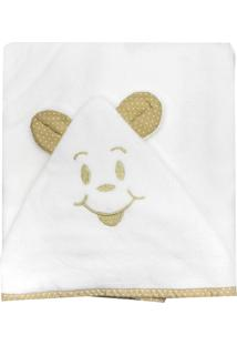 Toalha De Banho Cuca Criativa Branca