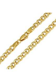 Corrente Grumet Oca Em Ouro Amarelo 40 Cm