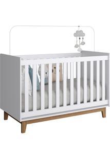 Jogo De Quarto Infantil Completa Móveis Meu Bebê Cbinf06 Branco