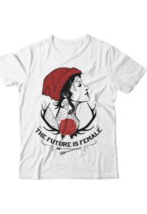 Camiseta Blitzart Future Is Female - Girl - Branca