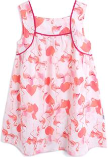 Vestido Rovitex Flamingo Rosa