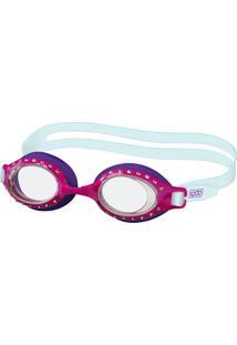 Óculos De Silicone Para Natação Princess Uva Cristal Speedo