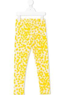 Noé & Zoe Legging Com Estampa - Amarelo