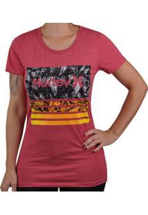 Camiseta Hurley Overlay - Feminino