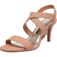 090255277 Sandália Caramelo Via Marte feminina | Shoes4you