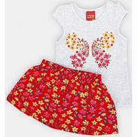 a480436d159b7d Conjunto Para Menina infantil   Shoes4you