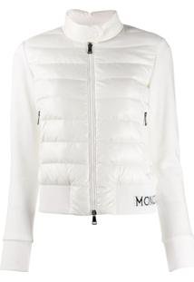 Moncler Padded Panels Jacket - Branco