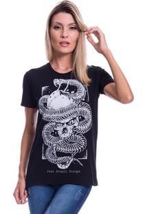 Camiseta Jazz Brasil Design Preta