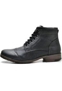 Bota Boots Reta Oposta 897 Suflair Fossil Preto - Preto - Masculino - Dafiti