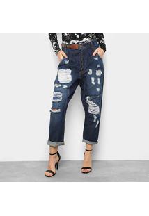 c8a3b334d Calça Jeans Saruel Lança Perfume Destroyed Feminina - Feminino