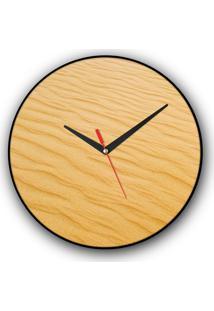 Relógio De Parede Colours Creative Photo Decor Decorativo, Criativo E Diferente - Areia