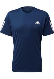 Camisetas E Regatas Esporte Tênis Adidas 3-Stripes Azul