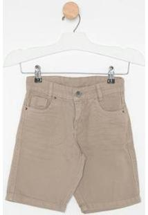 Bermuda Jeans Express Petros Masculina - Masculino-Marrom