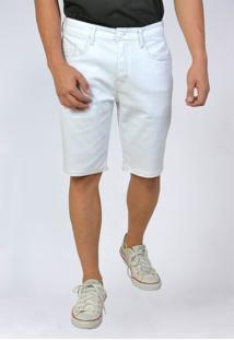 Bermuda Jeans Tradicional Cintura Média Yck'S