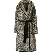 6df2d036cc18a Casaco Leopardo Marrom feminino