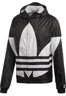 Jaqueta Adidas Big Trefoil Originals Preto