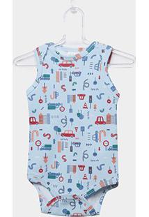 Body Infantil Up Baby Urbano Menino - Masculino