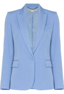 Stella Mccartney Jaqueta Slim - Azul