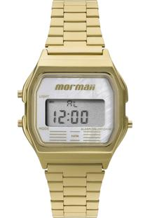 Relógio Digital Mormaii Unissex - Mojh02As/4B Dourado