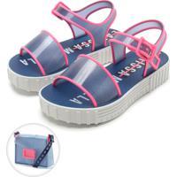 931542122b430 Dafiti. Sandália Grendene Kids Larissa Manoela Fashion Bag Azul