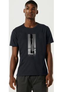 Camiseta Masculina Estampada Manga Curta