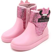 7461cd89b9e Bota Grendene Kids Menina Minnie Shine Glitter Rosa
