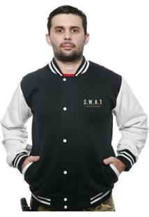 Casaco College Old School Militar Swat Lapd - Masculino