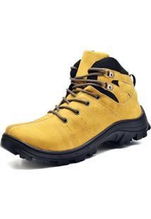 Bota Adventure Eco Canyon Everest Amarelo
