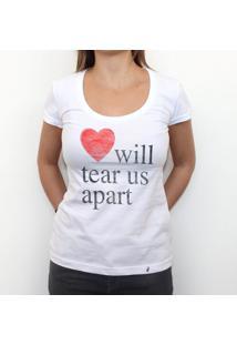 Love Will Tear Us Apart - Camiseta Clássica Feminina