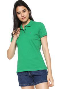 a259dac0d2 Camisa Polo Ellus Logo Verde