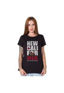 Camiseta Stoned New California Republic Preto